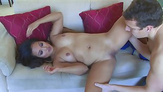 Lucky Pool Boy Pounds Foremost Asian Babe