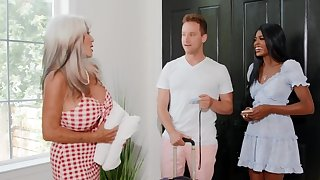 Hotel owner is gung-ho and wants sex with be transferred to interracial reinforcer
