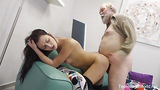 Younger girl Katy Rose loves to light of one's life with her older darling