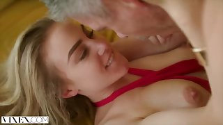 Hottie Mistress Loves Teasing her Man about Front of his Wife